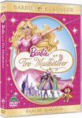 barbie og de tre musketerer / barbie and the three musketeers - DVD