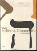 bibelsk hebraisk grammatik - bog