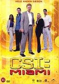 c.s.i. miami - sæson 2 - box - DVD
