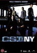 c.s.i. new york - sæson 1 - box - DVD