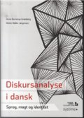 diskursanalyse i dansk - bog