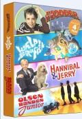 hjælp jeg er en fisk // en som hodder // hannibal og jerry // olsen banden junior - DVD