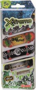 finger skateboard - sæt ed 4 stk - Diverse