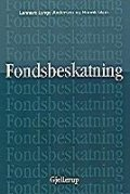 fondsbeskatning - bog