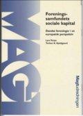 foreningssamfundets sociale kapital - bog