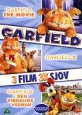 garfield the movie // garfield 2 // garfield i den virkelige verden - DVD