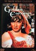 golden earrings  - Marlene Dietrich Collection