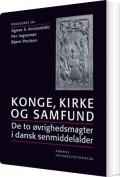 konge, kirke og samfund - bog