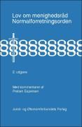 lov om menighedsråd & normalforretningsorden - bog