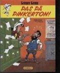 lucky luke - pas på pinkerton - bog