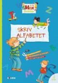 max skoleklar - skriv alfabetet - bog