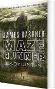 maze runner - labyrinten - bog