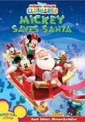 mickey redder julemanden - disney - DVD