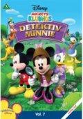 mickeys klubhus detektiv minnie - disney - DVD