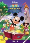 mickeys klubhus - fortællinger med overraskelser - disney - DVD