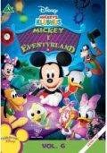 mickeys klubhus - mickey i eventyrland - disney - DVD