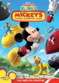 mickeys klubhus / mickey mouse clubhouse - mickeys store klubhus jagt - DVD