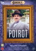 poirot - boks 1 - DVD
