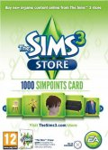 sims 3 simpoints 1000 store points retail card - PC