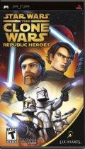 star wars clone wars republic heroes (essential) - psp