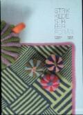 strikkede striber, forår - bog