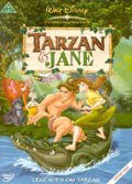 tarzan og jane - disney - DVD