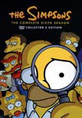 the simpsons - sæson 6 - DVD