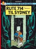 tintins oplevelser: rute 714 til sydney -, standardudgave ny oversættelse - bog
