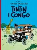 tintins oplevelser: tintin i congo -, standardudgave ny oversættelse - bog