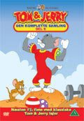 tom og jerry - den komplette samling del 8 - DVD
