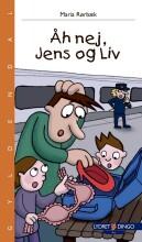 åh nej, jens og liv - bog