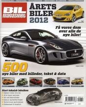 årets biler 2012 - bog
