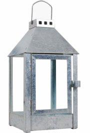 a2 living lanterne - mini udendørs og indendørs lanterne i galvaniseret stål - Til Boligen