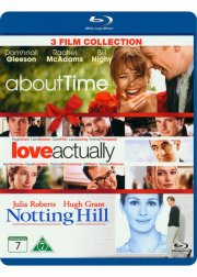 love actually // notting hill // about time - Blu-Ray