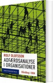 adfærdsanalyse i organisationer - bog