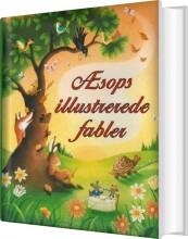 æsops illustrerede fabler - bog
