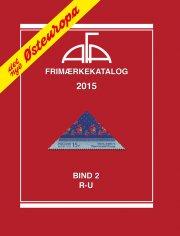 afa frimærkekatalog 2015 - østeuropa bind 2 - r-u - bog
