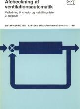 afcheckning af ventilationsautomatik - bog