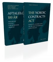 aftaleloven 100 år & the nordic contracts acts - bog