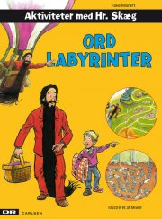 aktiviteter med hr. skæg: ordlabyrinter - bog