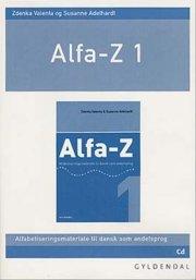 alfa-z 1, lærer-cd - bog