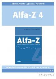 alfa-z 4 lærer-cd - bog