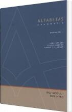 alfabetas grammatik, øvehæfte 1 - bog