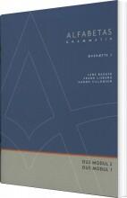 alfabetas grammatik, øvehæfte 2 - bog