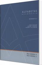 alfabetas grammatik, øvehæfte 4 - bog