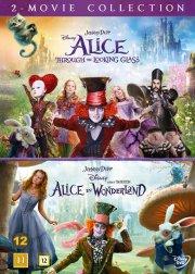 alice in wonderland 1+2 // alice i eventyrland 1+2 - DVD