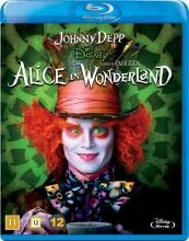 alice in wonderland / alice i eventyrland - johnny depp - disney - Blu-Ray