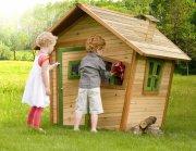 axi legehus i træ - saml selv trælegehus - Udendørs Leg