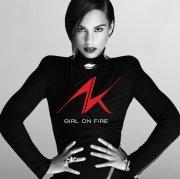 alicia keys - girl on fire - cd