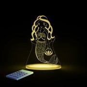 aloka sleepy lights natlampe / sengelampe - havfrue - Til Boligen